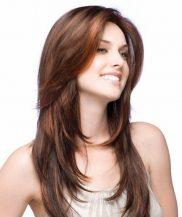 Model Rambut Untuk Wajah Oval - Teknik Layer