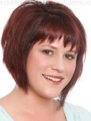 Gaya Rambut Untuk Wajah Bulat - Vanila Swirl Pendek