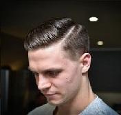 Model Rambut Pria Untuk Wajah Bulat - classic