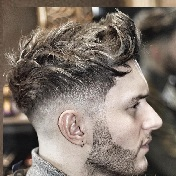 Model Rambut Pria Untuk Wajah Bulat - Wavy