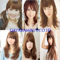 Model Rambut Wanita Korea - hightlight