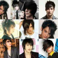 model rambut emo - Model Emolayer