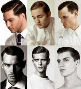 Model Undercut Slicked Back