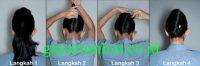 Cara Menata Rambut Panjang - Membuat Ala Pramugari