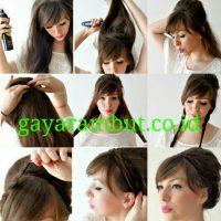 Cara Menata Rambut Panjang - Membuat Braided Updo