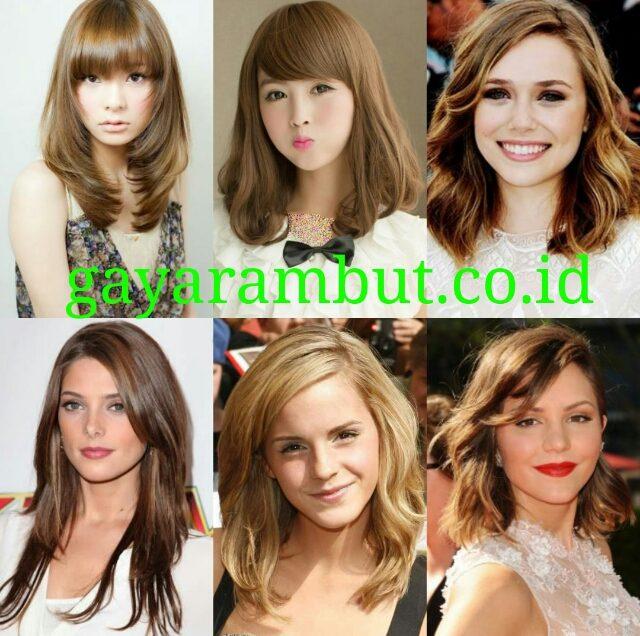 60 Model Rambut Pesta Malam Untuk Wanita Wajah Bulat Yang Simple dan Elegan
