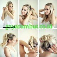 Cara Menata Rambut Panjang - Membuat Kepang Modern