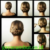 Cara Menata Rambut Panjang - Membuat Quick Twist
