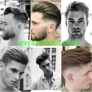 Cara Menata Rambut Undercut - layered undercut