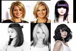 Model RambutAsymmetric, Blow Out, Fringe (Poni), Layered Hair dan Bun