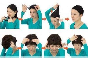 Cara Memakai Wig Agar Tidak Lepas