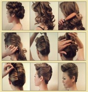 cara membuat rambut Sanggul Sasak