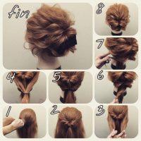 cara menata rambut pendek dengan Model Rambut Pendek Sanggul Messy