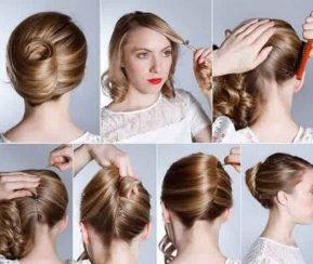cara menyasak rambut model Gaya Rambut Headband