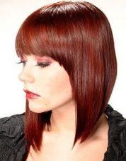 Gaya Rambut Untuk Wajah Bulat - Acutely A-Symmetrical