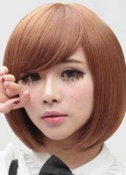 Gaya Rambut Untuk Wajah Bulat Dan Pipi Tembem Pria Dan Wanita - Gaya rambut pendek berponi