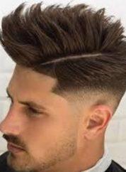 Gaya Rambut Untuk Wajah Bulat - Spiky Hair