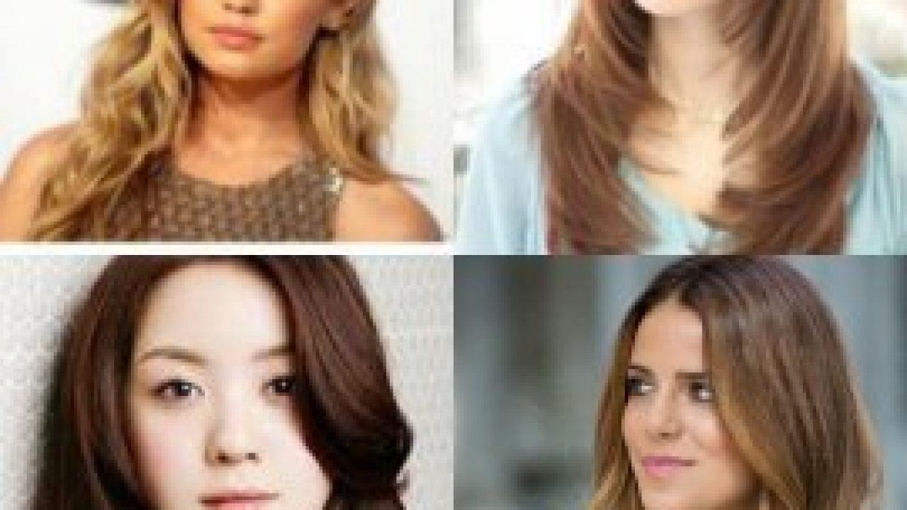 80 Gaya Rambut Panjang Wanita Untuk Wajah Bulat Yang Disukai Pria Gayarambut Co Id