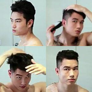 Cara Memotong Rambut Sendiri - Pompadour