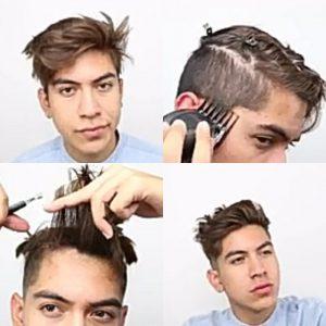 Cara Memotong Rambut Sendiri - Messy Modern
