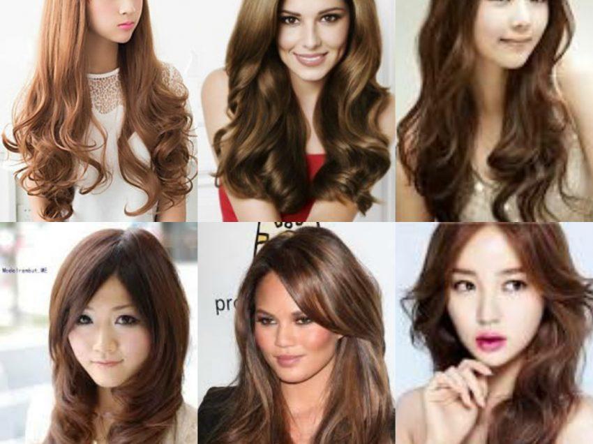 24 Model Rambut Panjang Berponi Yang Bagus dan Paling Terbaru