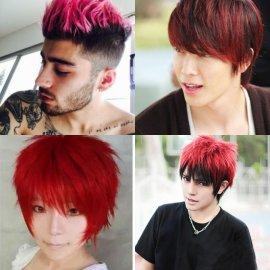 Model Rambut Ombre - Ombre Rambut Merah