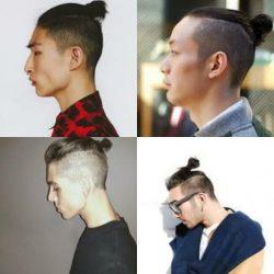 Model Rambut Pria Korea - Top Knot