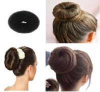 Cara Sanggul Rambut Sendiri - Donat/ Donut Hair Bun