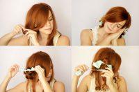 Cara Membuat Rambut Keriting - Kaos Kaki