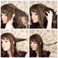 Cara Membuat Rambut Keriting - Kepang Rambut