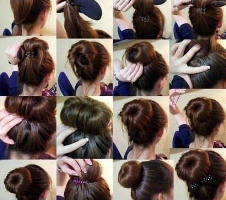 19 Cara Membuat Rambut Donat Hanya Dalam 1 Menit