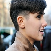 Model Rambut Pria Untuk Wajah Bulat - Bowl Cut