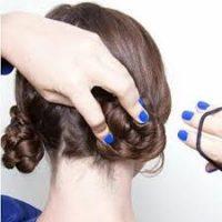 Cara Membuat Rambut Keriting - Cepol Kunciran