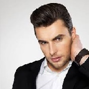 Model Rambut Pria Untuk Wajah Bulat - Voluminous Pompadour