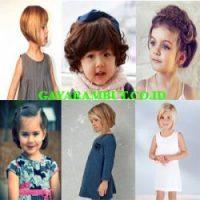 model rambut anak perempuan Bob Cut Style