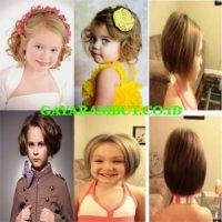 Potongan Bob pendek tebal yaitu potongan bob untuk rambut pendek yang  tebal. Model rambut panjang berponi potongan ini bisa membuat anak perempuan  Anda yang ... 5b4d91fe4b