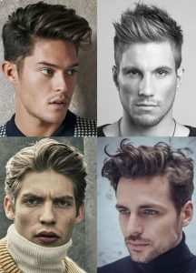 model rambut mohawk - British