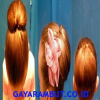 cara cepol rambut - Cepol Kecil Balerina