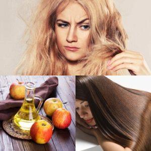 cara menghilangkan rambut bercabang dengan menggunakan Cuka Apel