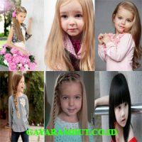 model rambut anak perempuan Cut Long Hair