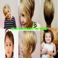 model rambut anak perempuan Cut Pixie