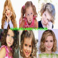 model rambut anak perempuan Ikal Medium