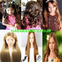 model rambut anak perempuan long layer