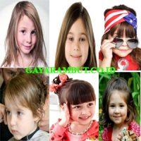 model rambut anak perempuan Medium Length Cut