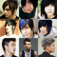 model rambut emo - Model Fringe (poni)