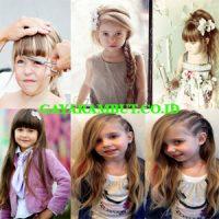 model rambut anak perempuan panjang poni
