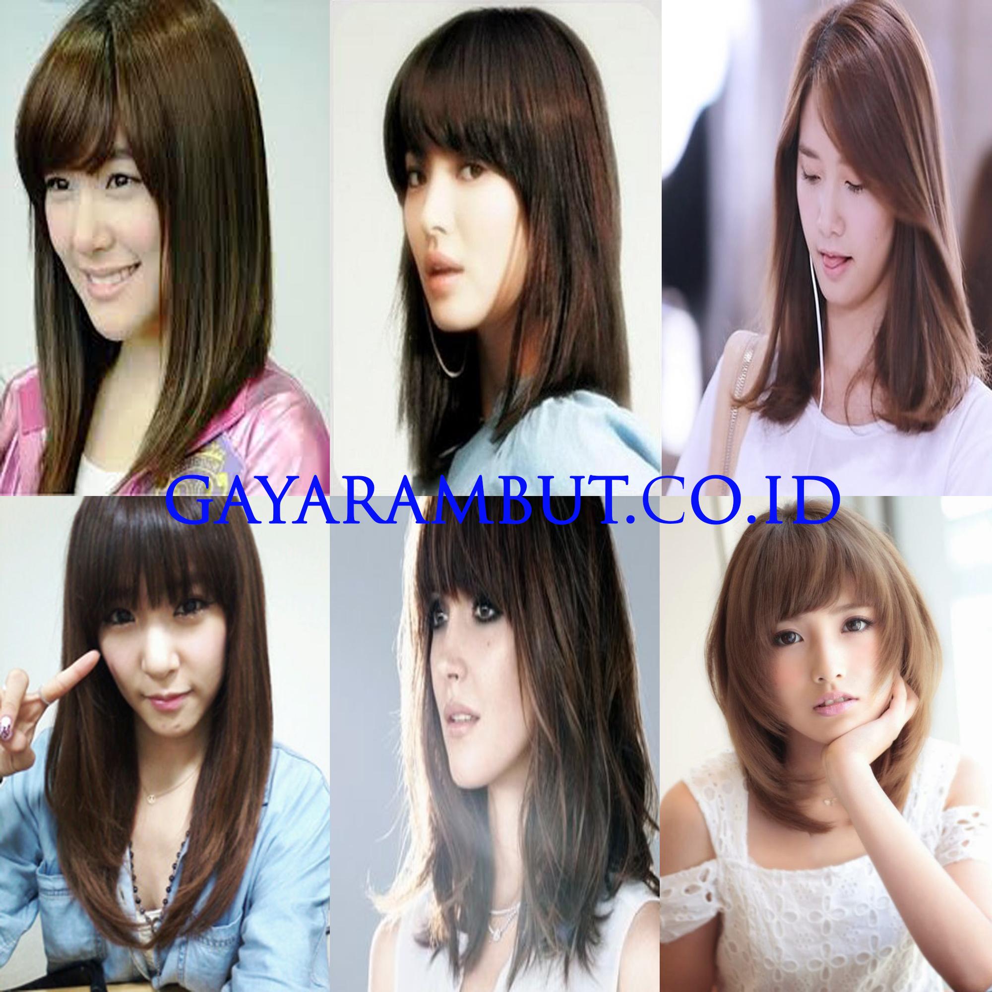 89 Model Rambut Wanita Korea Untuk Wajah Bulat Paling Cantik dan Anggun -  GayaRambut.co.id 6beb9d3bf4