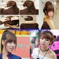 Model Rambut Wanita Korea - ponytrail