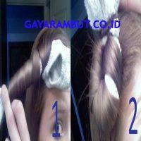 Cara Membuat Rambut Bergelombang - kaos kaki