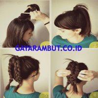 Cara Membuat Rambut Bergelombang - Mengepang